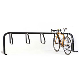 5-Bike City Bicycle Rack, Single Sided, Flange Mount