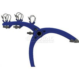Bike Carriers Truck Mounted Bones 3-Bike Blue