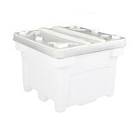 Bonar Plastics Lid PC-3028LID-A001 for FDA Bulk Container 42-1/2 x42-1/2 Natural