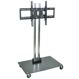 """Mobile Flat Panel Monitor Stand 49"""" H"""