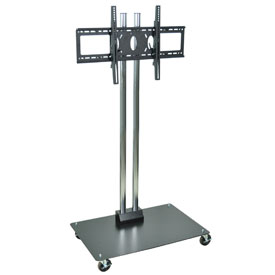 """Mobile Flat Panel Monitor Stand 65"""" H"""