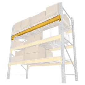"Husky Rack & Wire LBN55096 Double Slotted Pallet Rack Beam Pair - 96""L, 8701 Lb Cap/Pr (2 pcs)"