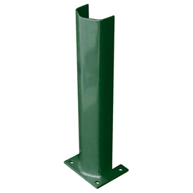 "1/4"" Thick 24"" H Steel Post Protector Green"