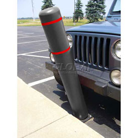 "52""H FlexBollard™ - Concrete Installation - Black Cover/Red Tapes"