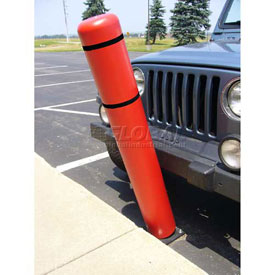 "72""H FlexBollard™ - Concrete Installation - Red Cover/Black Tapes"