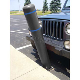"72""H FlexBollard™ - Concrete Installation - Black Cover/Blue Tapes"
