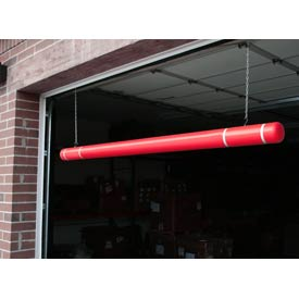 "120"" Clearance Bar - Red Bar/White Tapes"