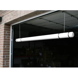 "120"" Clearance Bar - White Bar/Black Tapes"