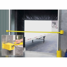 Retractable Dock Door Safety Strap with Sensor