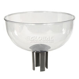 Tensator Queueway Merchandising Bowl with Adapter