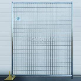 Welded Wire Fence, Powder Coated - 5'Wx6'H 8 Panel Kit