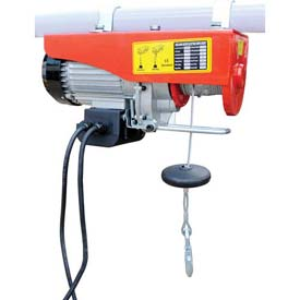 Vestil Mini-Electric Cable Hoist 400 Lb. Single & 800 Lb. Double Line Capacity