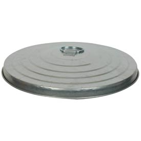 Galvanized Garbage Can Lid - 24 Gallon Heavy Duty