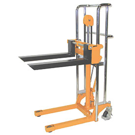 "Wesco® Value Lift Manual Stacker 272941 880 Lb. Cap. 59"" Lift"