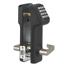 Access Cylindrical Lock Schlage C Keyway 160 Codes, Black