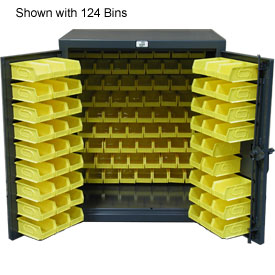 Strong Hold® Heavy Duty Counter Top Bin Cabinet 43.5-BB-240 - With 180 Bins 48x24x42