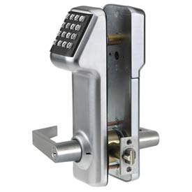 Access Cylindrical Lock Schlage C Keyway 160 Codes, Satin Chrome by
