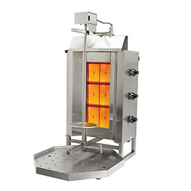 Axis Vertical Broiler 3 Burner by
