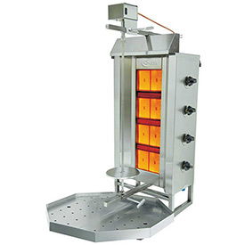 Axis Vertical Broiler 4 Burner by