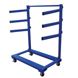 "Vestil Portable Cantilever Rack Cart CANT-3048 48""L x 30""W"