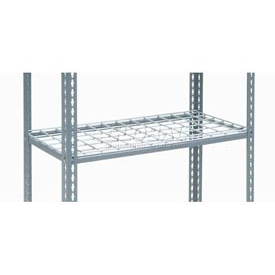 "Additional Shelf Level Boltless Wire Deck 48""W x 12""D"