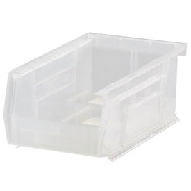 Quantum Ultra Stack and Hang Bin QUS220CL 4-1/8 x 7-3/8 x 3 Clear - Pkg Qty 24