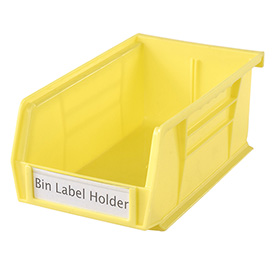 "Aigner TR-1300 Tri-Dex Label Holder 1"" x 3"" for Stacking Bin Price per Pack of 25"