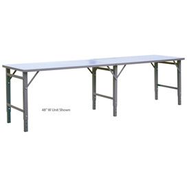 "408"" Long x 30"" Wide Folding Table"