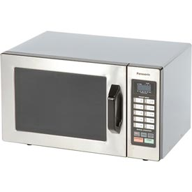 Panasonic ® NE-1054 - Microwave Oven, 0.8 Cu. Ft., 1000 Watt, Keypad, Commercial