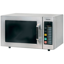 Panasonic  0.8 Cu. Ft. 1000 Watt All Stainless Steel Commercial Microwave by