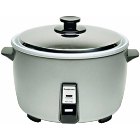 Click here to buy Panasonic  23 Cup Commercial Rice Cooker.