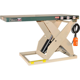 Beech LoadRedi Heavy-Duty Scissor Lift Table RM48-20-2W 64-5/8 x 24 2000 Lb. Cap. by