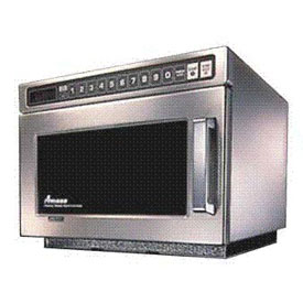 Amana 0.6 Cu. Ft. 2100 Watt Keypad HD Commercial Microwave by