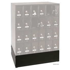 "Optional Base For 22""W x 16""D x 6""H Black Locker"