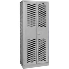 Hallowell TA50-422484-1HG All Welded TA50 Military Gear Storage Locker Gray