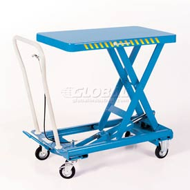 Bishamon® MobiLift™ Scissor Lift Table BX-15 330 Lb. Capacity
