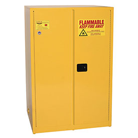 Eagle Flammable Cabinet with Manual Close Double Door 90 Gallon