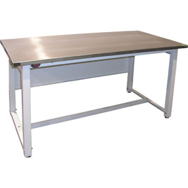 Lab Bench - 60 x 30 Stainless Steel, Fixed Height
