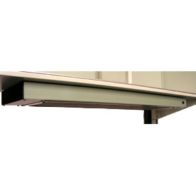 "Deluxe Dual Bulb Fixture with Lighted On/Off Switch, 48"" long"