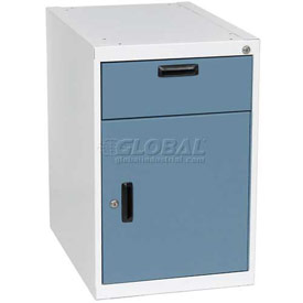 Steel Modular Cabinet with Locking Right Hand Swinging Door