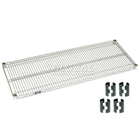 Poly-Z-Brite Wire Shelf 21x60 with Clips