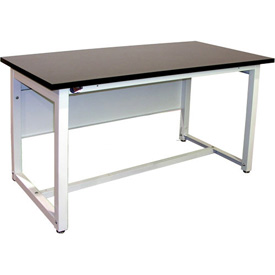 60 x 30 Phenolic Resin Lab Workbench Fixed Height