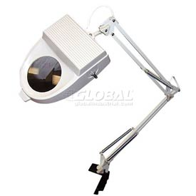 "3 Diopter Magnifier Lamp, 30"" Spring Balanced Arm"