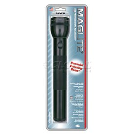 Maglite® S3D016 3 Cell D Flashlight Black