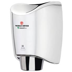 Smartdri Hand Dryer - Polished Chrome Aluminum - 120V - K-970