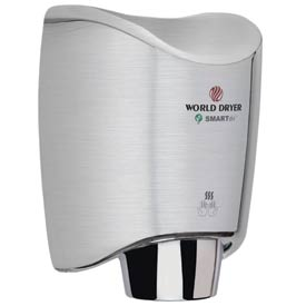 Smartdri Hand Dryer - Brushed Stainless Steel - 120V - K-973