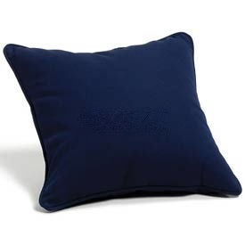 "Throw Pillow 15"" Square - Navy"