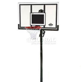 "Lifetime® In-Ground Basketball System with 54"" Steel-Framed Backboard"