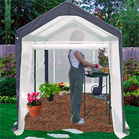 Spring Gardener Greenhouse Gable 6' x 8' x 7' by