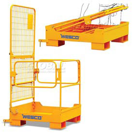 Wesco Folding Maintenace Platform 600 Lb. Capacity